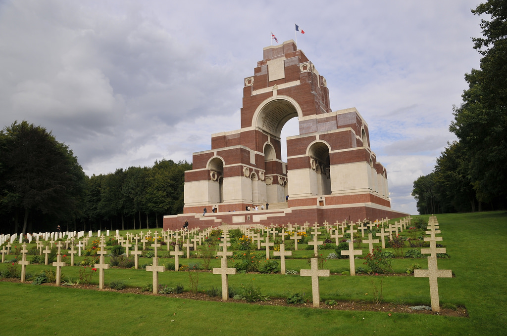 3.Memorial to the missing of the somme - Thiepval