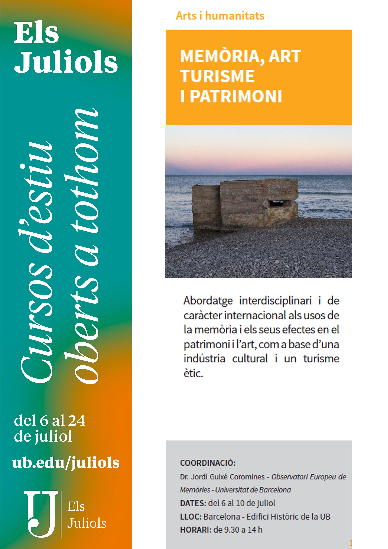 Els Juliols - Memòria, art turisme i patrimoni