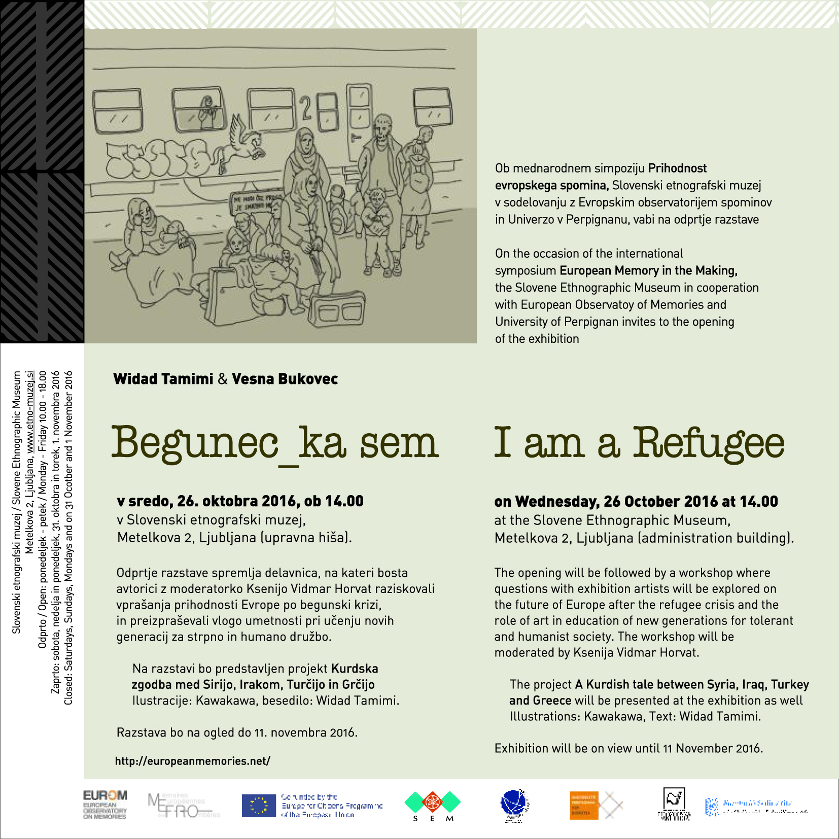 INVITATION Exhibition_ I am a Refugee