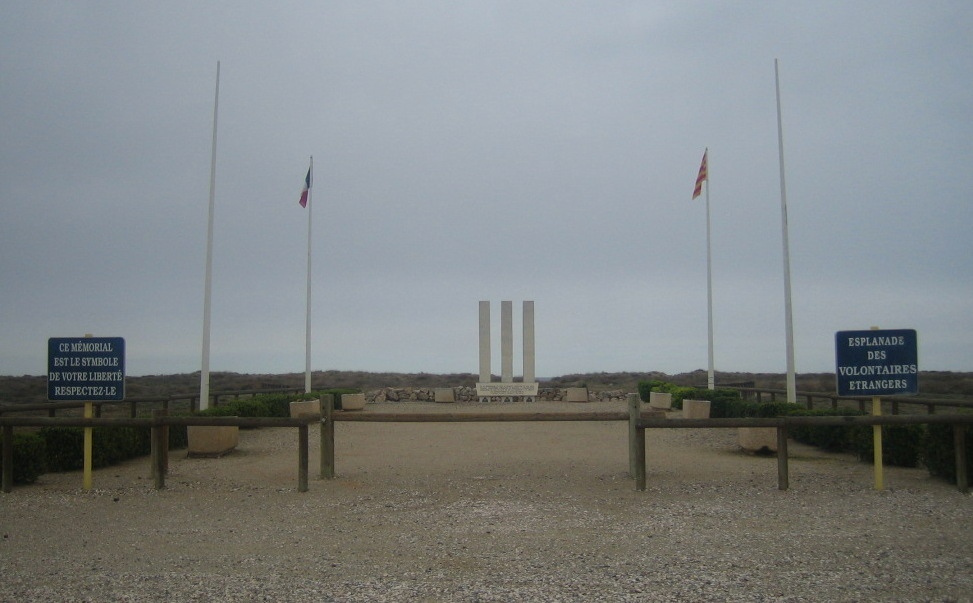 Esplanade of the foreign volunteers