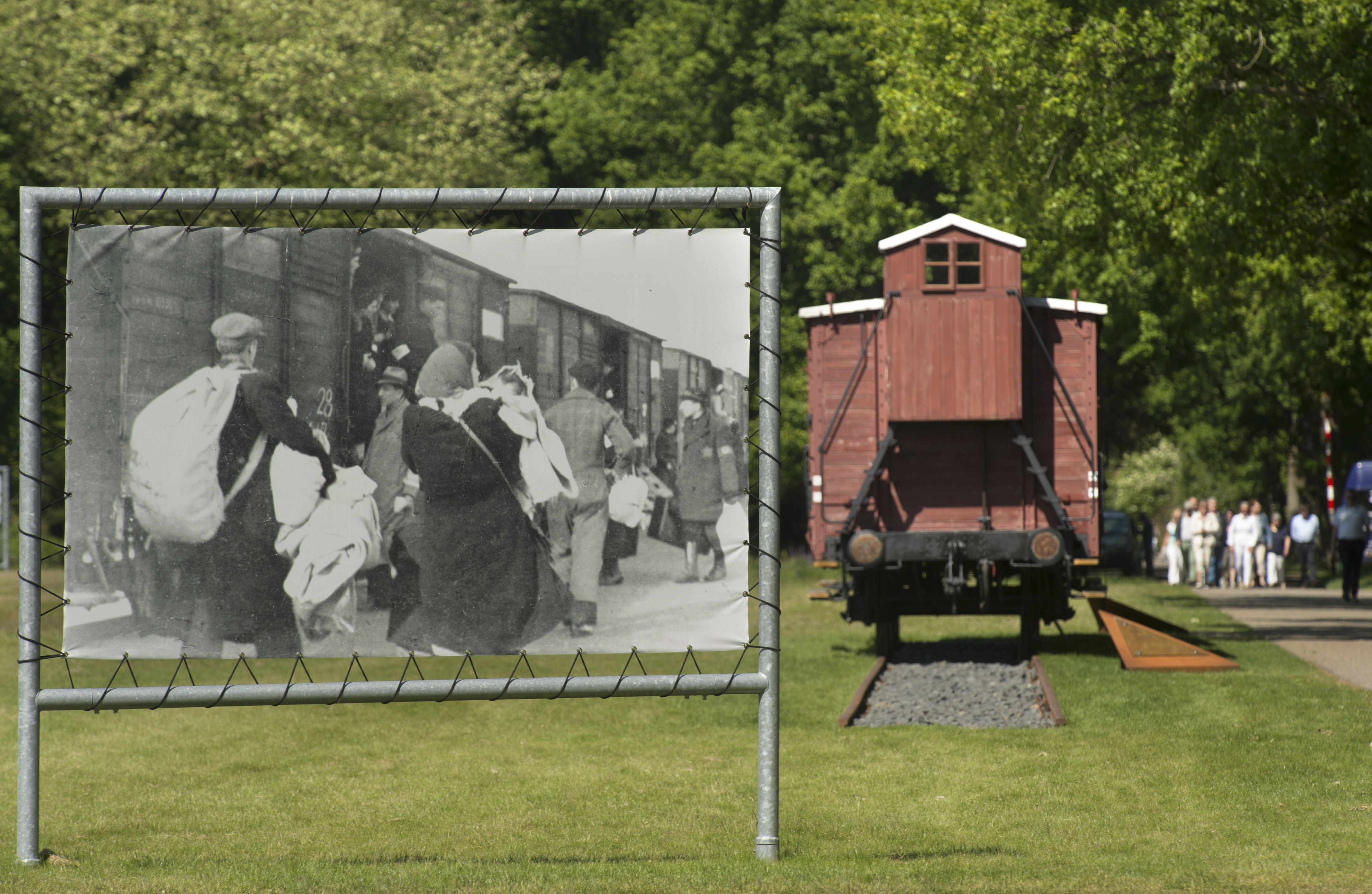 Nederland - Hooghalen - Drenthe - 11-06-2015 Herinneringscentrum kamp Westerbork. Foto: Sake Elzinga