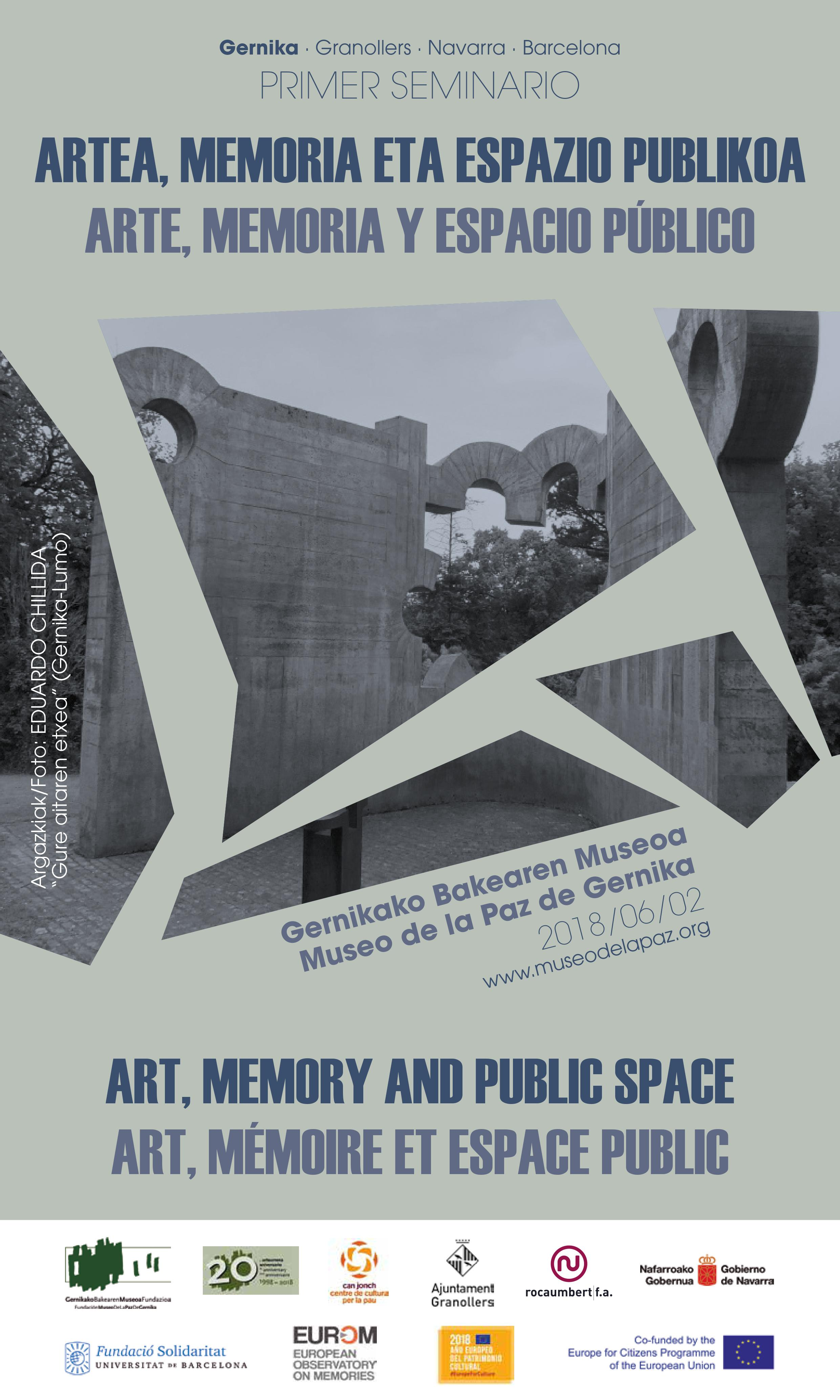 013a27d927690 Art, memory and public space - EUROM