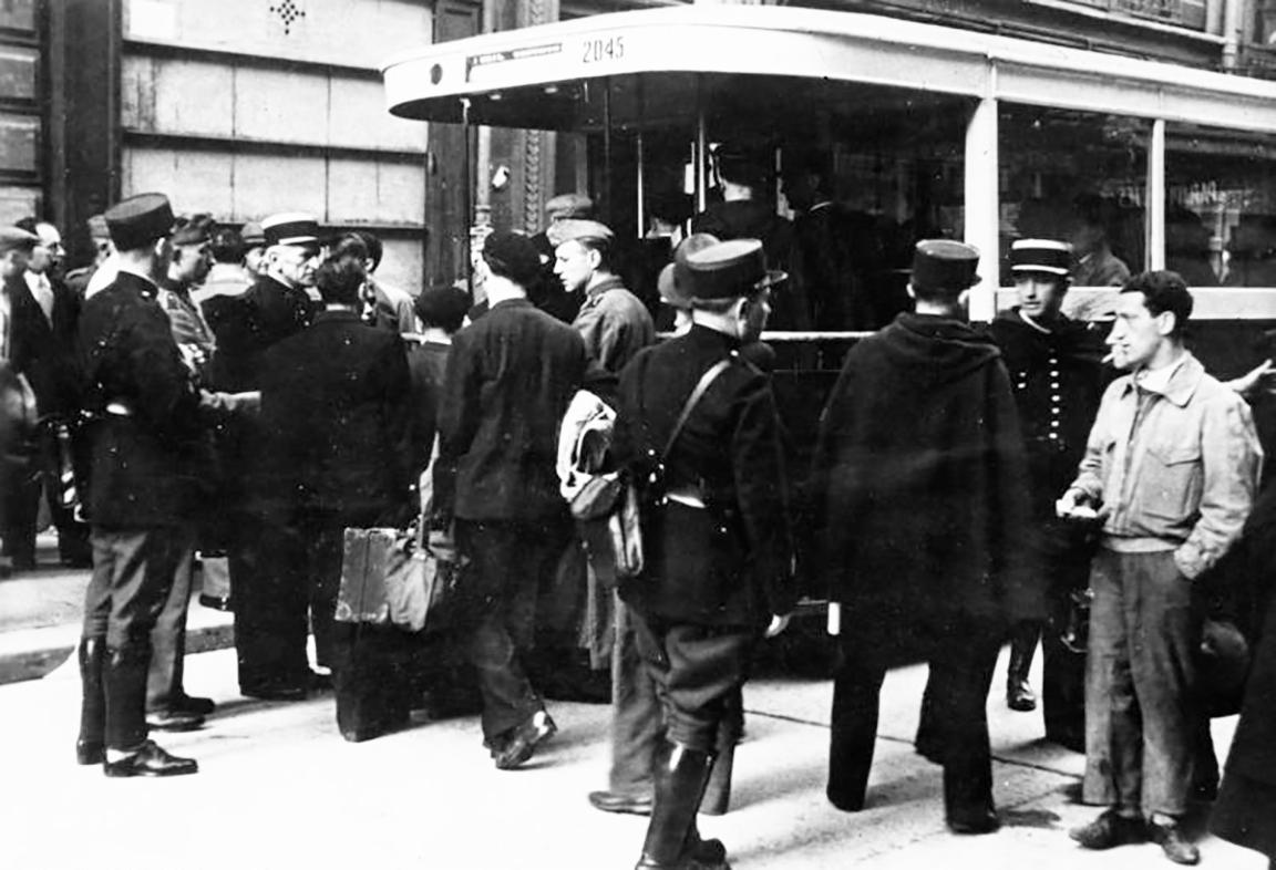 Persecució de jueus a França, 1941 | Das Bundesarchiv