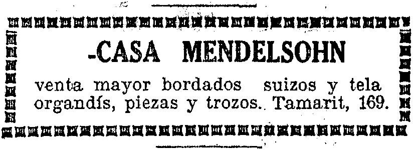 "Announcement of the ""Mendelsohn House"" | Hemeroteca de La Vanguardia"
