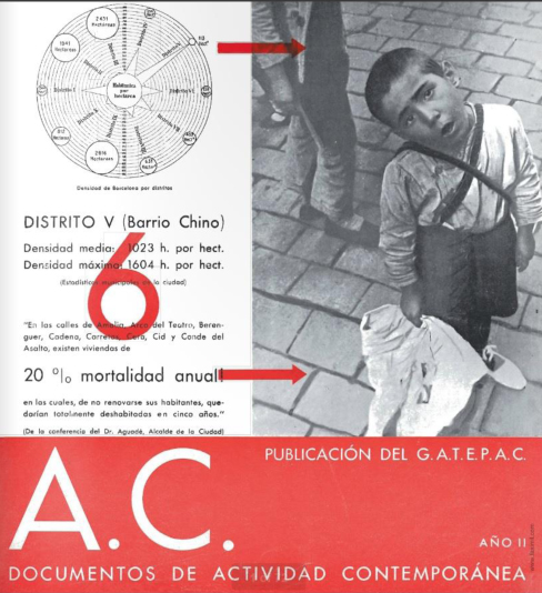 Report by GATCPAC appeared in A.C Magazine featuring photos of Margaret Michaelis.