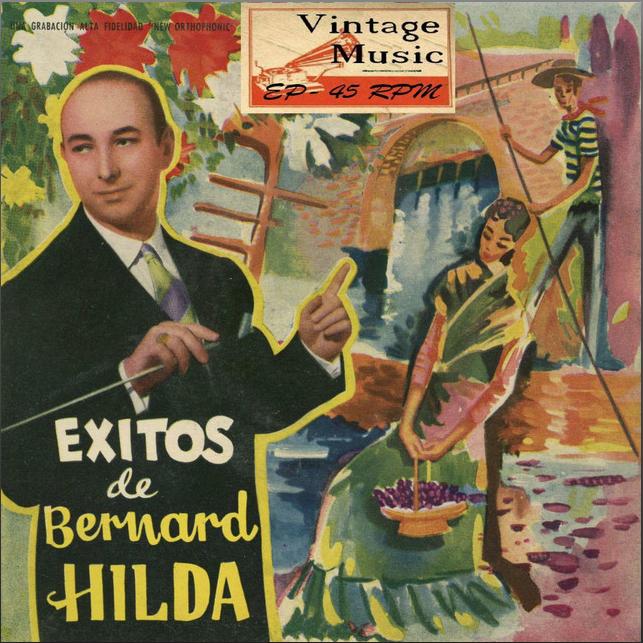 "Cover of ""Éxitos de Bernard Hilda"" - EPs Collectors - (C) 2009 Vintage Music"
