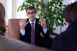 Gilles Pelayo | Picture: Johan François © European Commission EACEA.