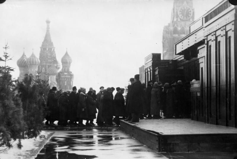 Lenin's Mausoleum: A Haunted House on Red Square [1]