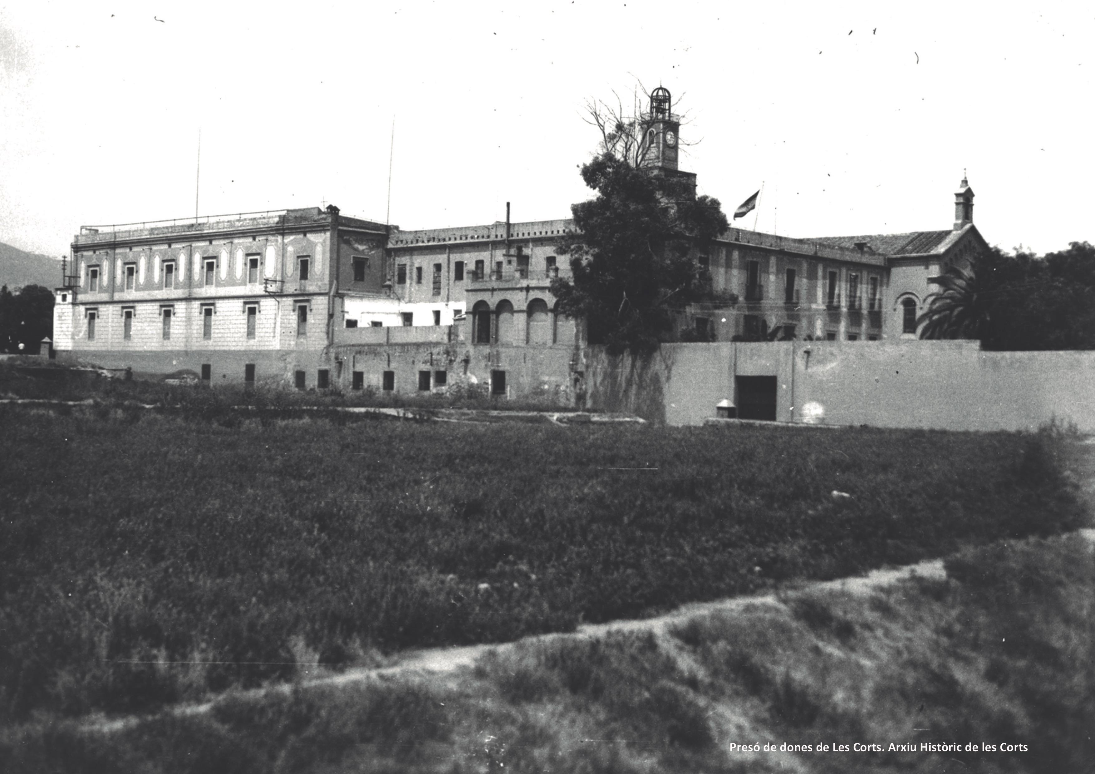Presó de dones de Les Corts. Arxiu Històric de Les Corts.