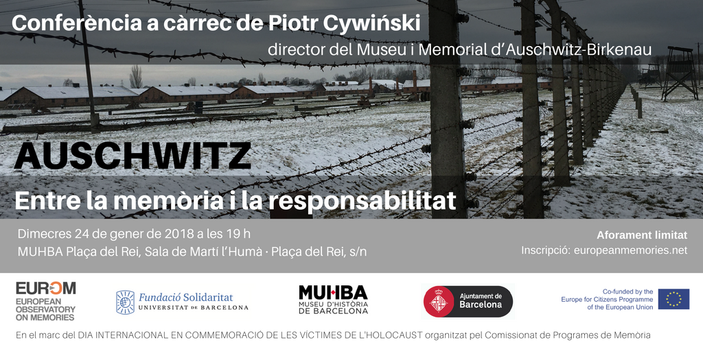 HOLOCAUST 2018 BCN - CONFERENCIA