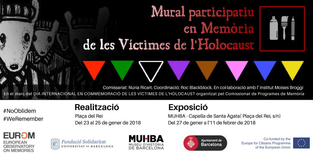 HOLOCAUST 2018 BCN - MURAL