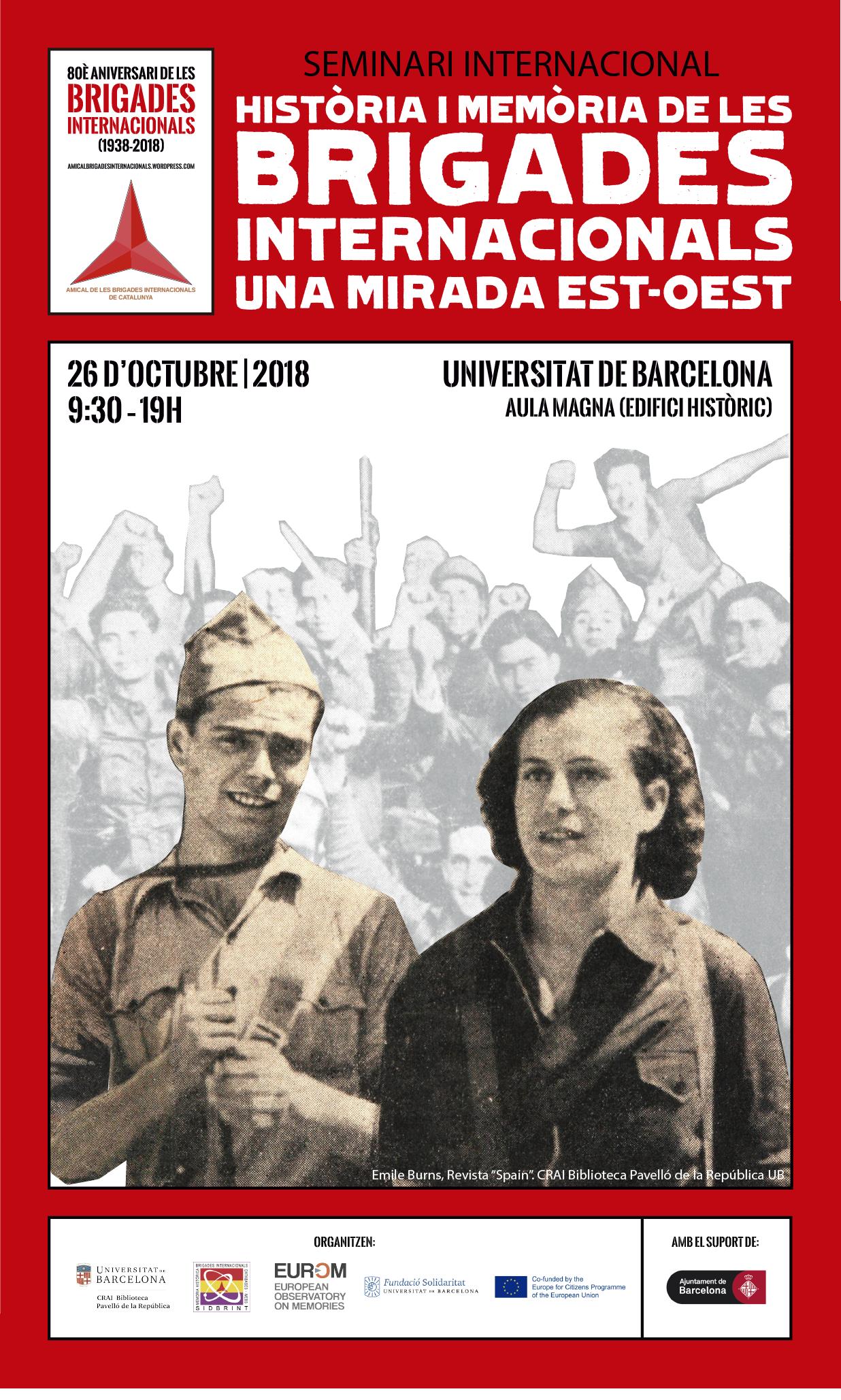 Seminari 80è aniversari comiat Brigades Internacionals