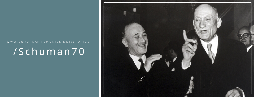 Jean Monnet and Robert Schuman in the 1950s